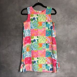 Lily Pulitzer Patchwork Shift Dress